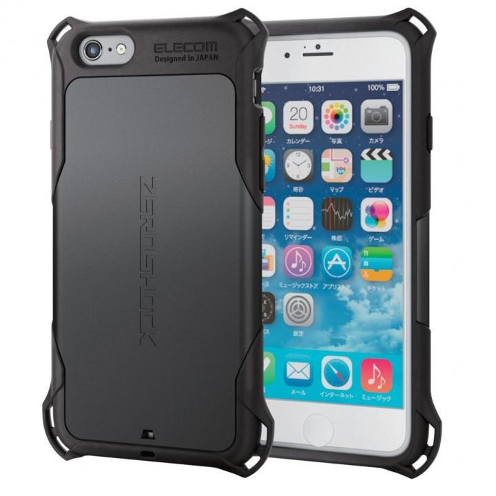 iPhone6s ケース 耐衝撃ケース ZEROSHOCK ブラック iPhone 6s_0