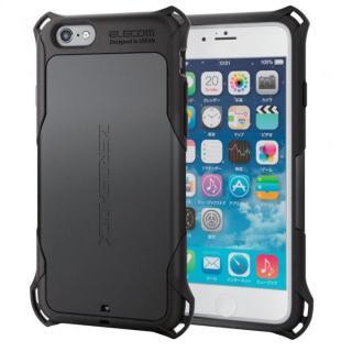 耐衝撃ケース ZEROSHOCK ブラック iPhone 6s