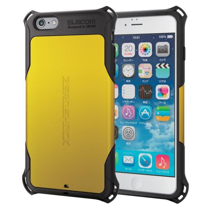 【iPhone6s Plusケース】耐衝撃ケース ZEROSHOCK イエロー iPhone 6s Plus_0