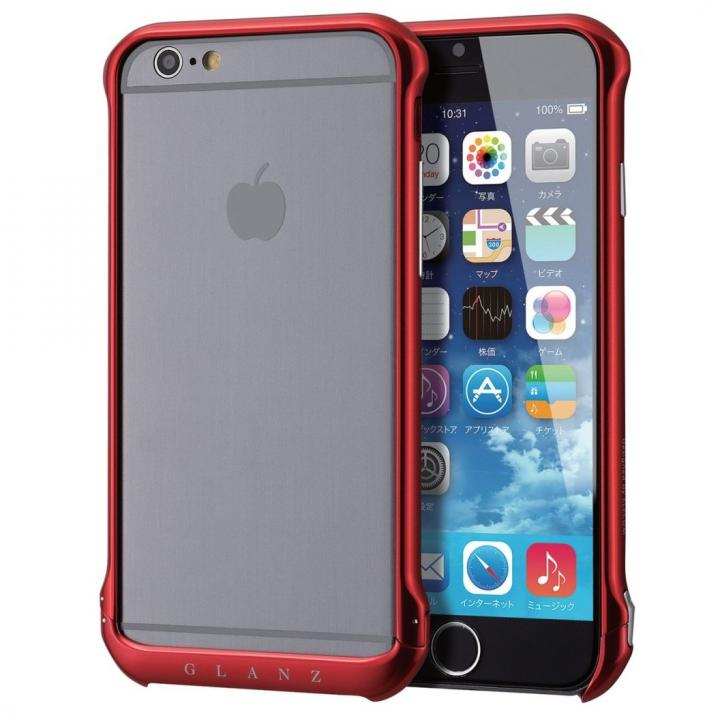 iPhone6s ケース ボルトレス アルミバンパー レッド iPhone 6s_0