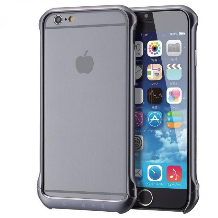 iPhone6s ケース ボルトレス アルミバンパー ブラック iPhone 6s_0