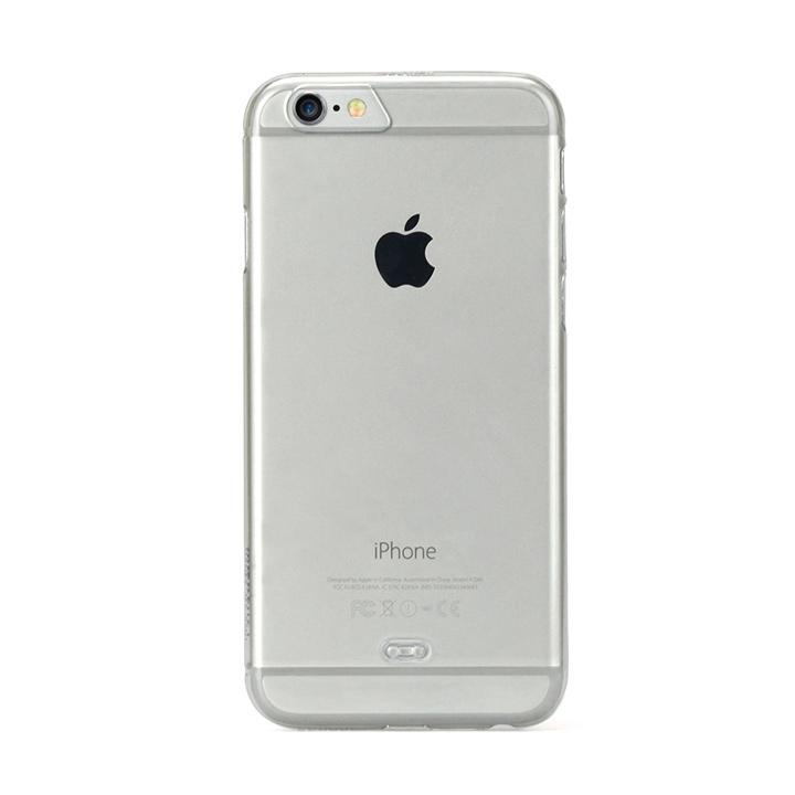 TUNEWEAR eggshell 約0.8mm薄型ハードケース クリスタルクリア iPhone 6s/6