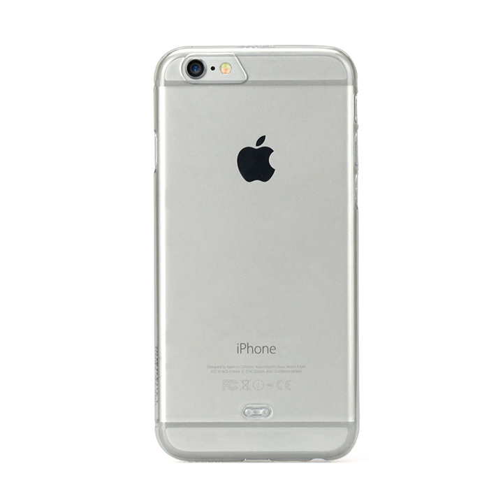 [2017夏フェス特価]TUNEWEAR eggshell 約0.8mm薄型ハードケース クリスタルクリア iPhone 6s/6