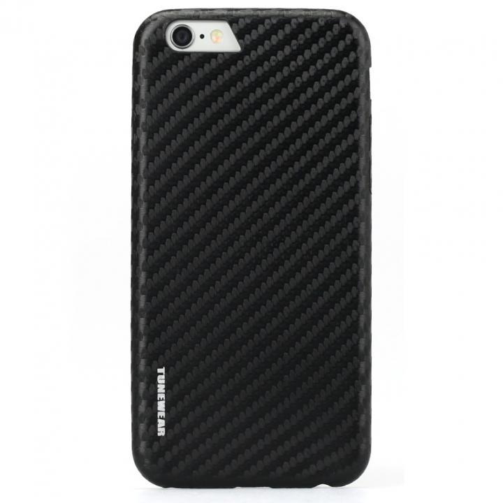 【iPhone6sケース】TUNEWEAR CarbonLook ブラック iPhone 6s/6_0