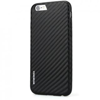 【iPhone6sケース】TUNEWEAR CarbonLook ブラック iPhone 6s/6_1