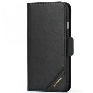iPhone6s ケース TUNEWEAR TUNEFOLIO TRAD 手帳型ケース ブラック iPhone 6s/6_0