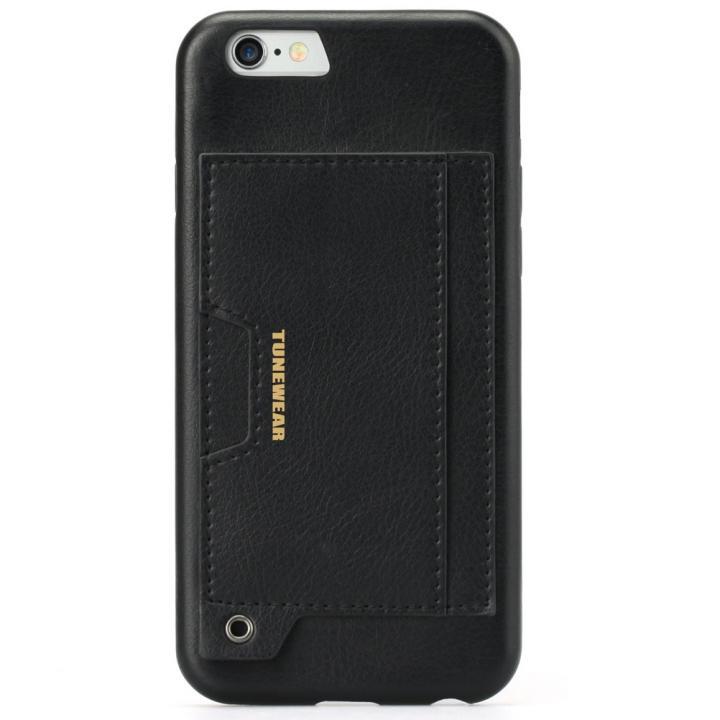 【iPhone6sケース】TUNEWEAR TUNECOCOON v2 PUレザーケース ブラック iPhone 6s/6_0