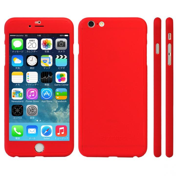 iPhone6s Plus ケース 極薄ハードケース ZENDO Nano Skin レッド iPhone 6s Plus_0