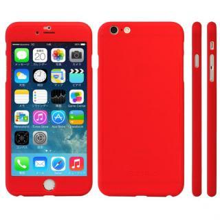 極薄ハードケース ZENDO Nano Skin レッド iPhone 6s Plus
