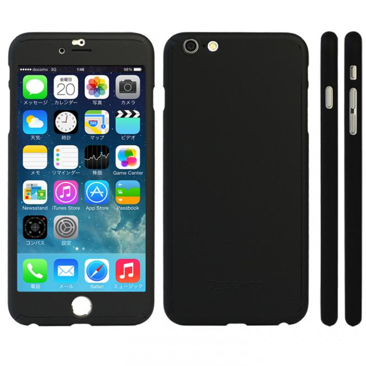 【iPhone6s Plusケース】極薄ハードケース ZENDO Nano Skin ブラック iPhone 6s Plus_0