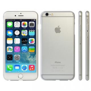 極薄ハードケース ZENDO Nano Skin クリアマット iPhone 6s