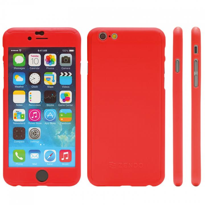 iPhone6s ケース 極薄ハードケース ZENDO Nano Skin レッド iPhone 6s_0