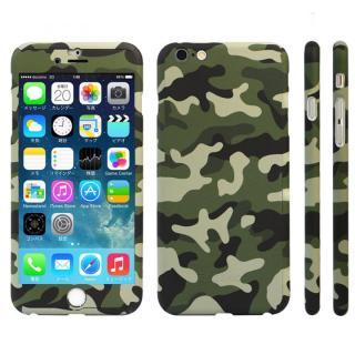 極薄ハードケース ZENDO Nano Skin カモフラグリーン iPhone 6s