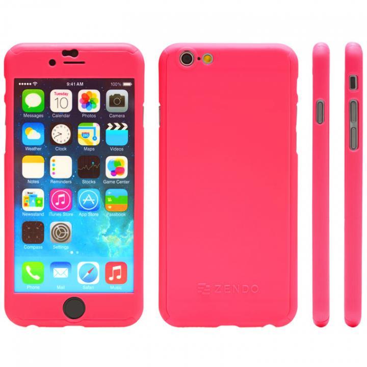 iPhone6s ケース 極薄ハードケース ZENDO Nano Skin ピンク iPhone 6s_0