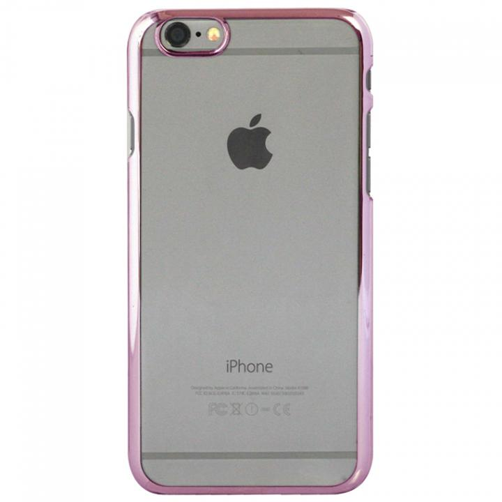 iPhone6s ケース クリアハードケース EDGEi ピンクゴールド iPhone 6s_0