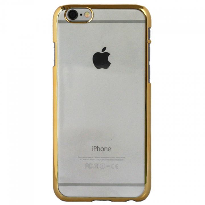 【iPhone6sケース】クリアハードケース EDGEi ゴールド iPhone 6s_0