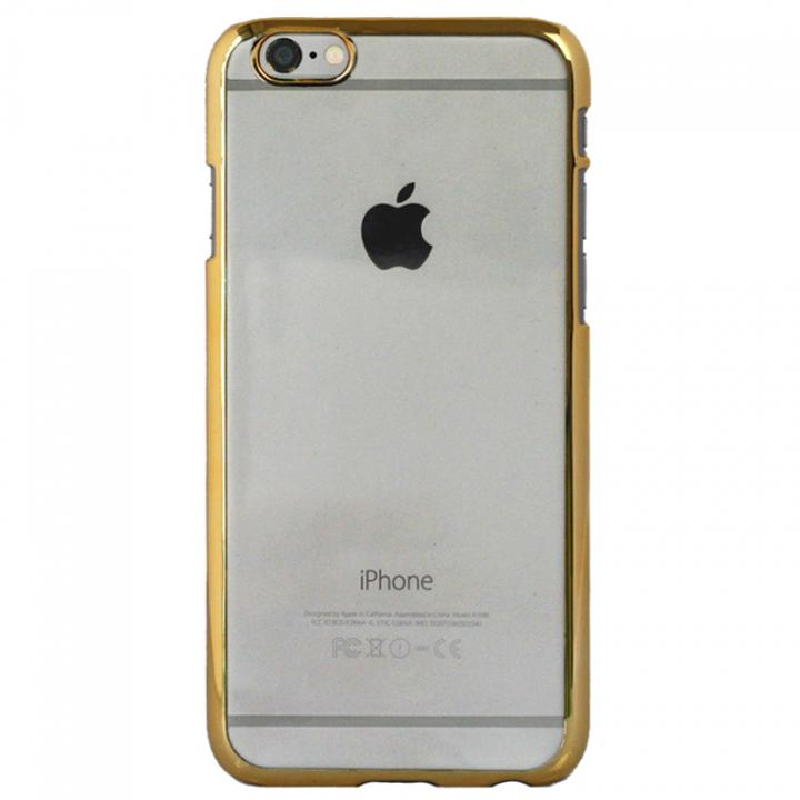 クリアハードケース EDGEi ゴールド iPhone 6s Plus