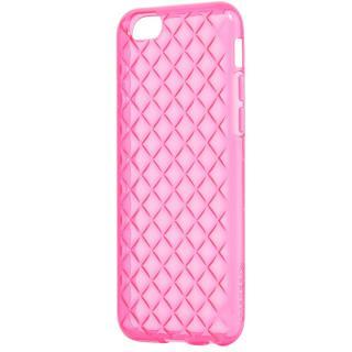 ダイヤカットデザインTPUケース ビビッドピンク iPhone 6s Plus/6 Plus