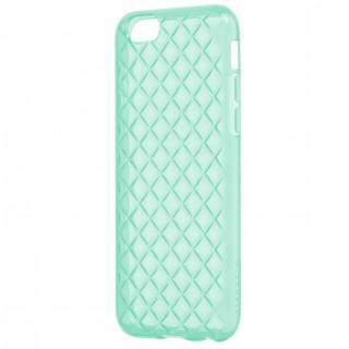 【iPhone6s Plus/6 Plusケース】ダイヤカットデザインTPUケース エメラルドグリーン iPhone 6s Plus/6 Plus
