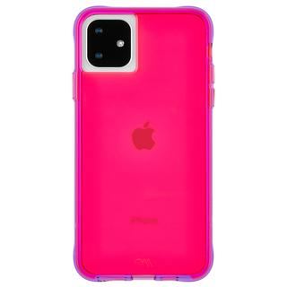 iPhone 11 ケース Case-Mate タフケース Neon Pink/Purple iPhone 11