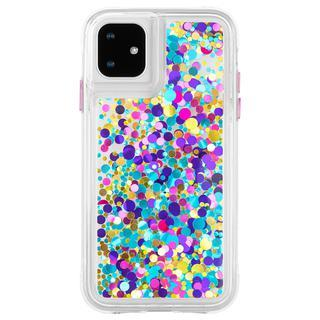 iPhone 11 ケース Case-Mate グリッターケース Confetti iPhone 11