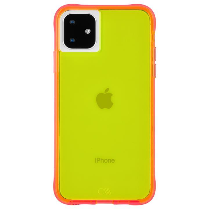 iPhone 11 ケース Case-Mate タフケース Neon Green/Pink iPhone 11_0