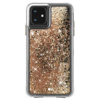 iPhone 11 ケース Case-Mate グリッターケース Gold iPhone 11