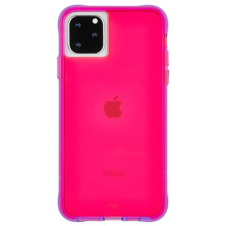 iPhone 11 Pro Max ケース Case-Mate タフケース Neon Pink/Purple iPhone 11 Pro Max_0