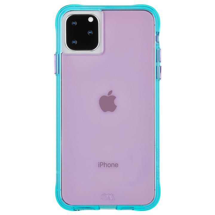 iPhone 11 Pro Max ケース Case-Mate タフケース Neon Purple/Turquoise iPhone 11 Pro Max_0