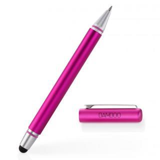 タッチペンとボールペンが一体 Bamboo Stylus duo 3rd generation タッチペン ピンク