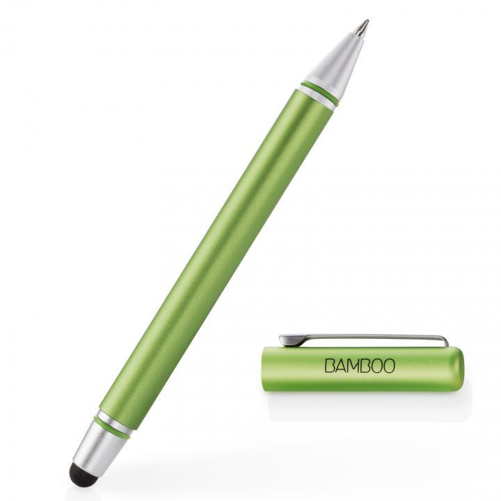 タッチペンとボールペンが一体 Bamboo Stylus duo 3rd generation タッチペン グリーン_0