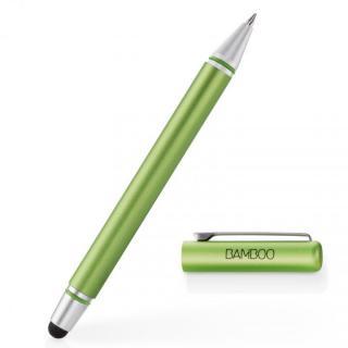 タッチペンとボールペンが一体 Bamboo Stylus duo 3rd generation タッチペン グリーン