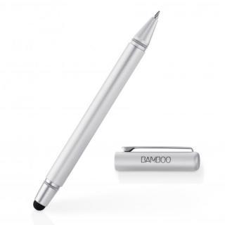 タッチペンとボールペンが一体 Bamboo Stylus duo 3rd generation タッチペン シルバー