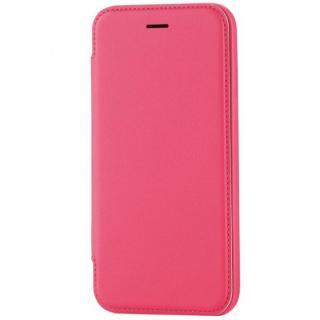 極薄ソフトレザー手帳型ケース ピンク iPhone 6s