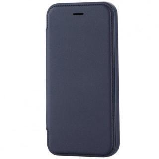 極薄ソフトレザー手帳型ケース ブルー iPhone 6s