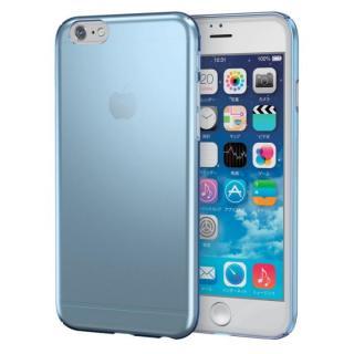 極薄ハードケース ブルー iPhone 6s