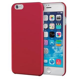 ラバーグリップコート ハードケース レッド iPhone 6s