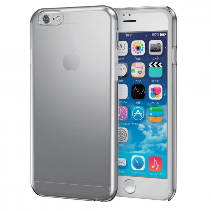 フレックスシェルケース クリアブラック iPhone 6s