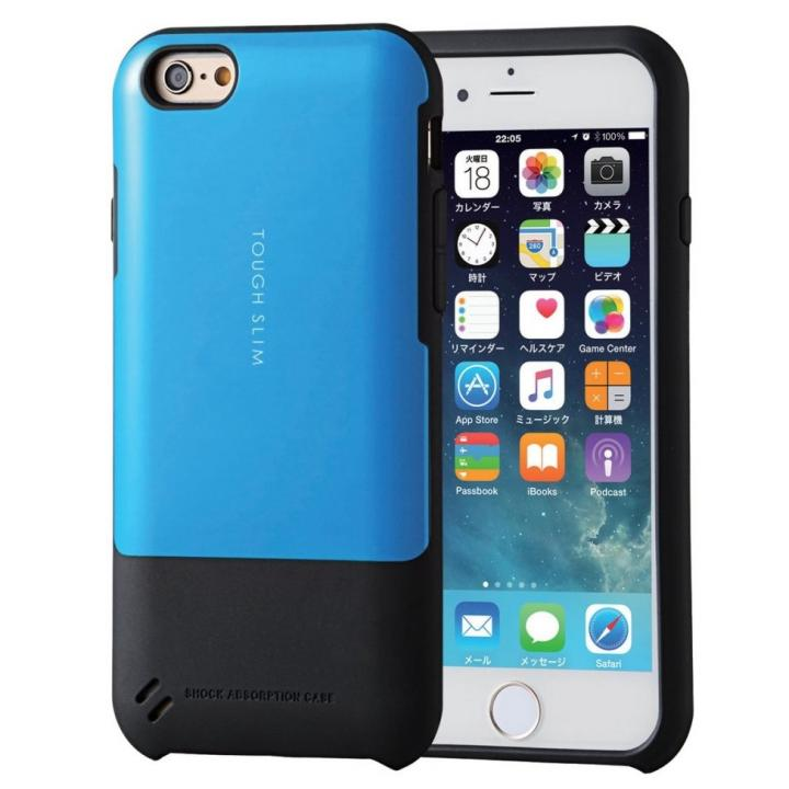 【iPhone6sケース】TOUGH SLIM  耐衝撃ケース ブルー iPhone 6s_0