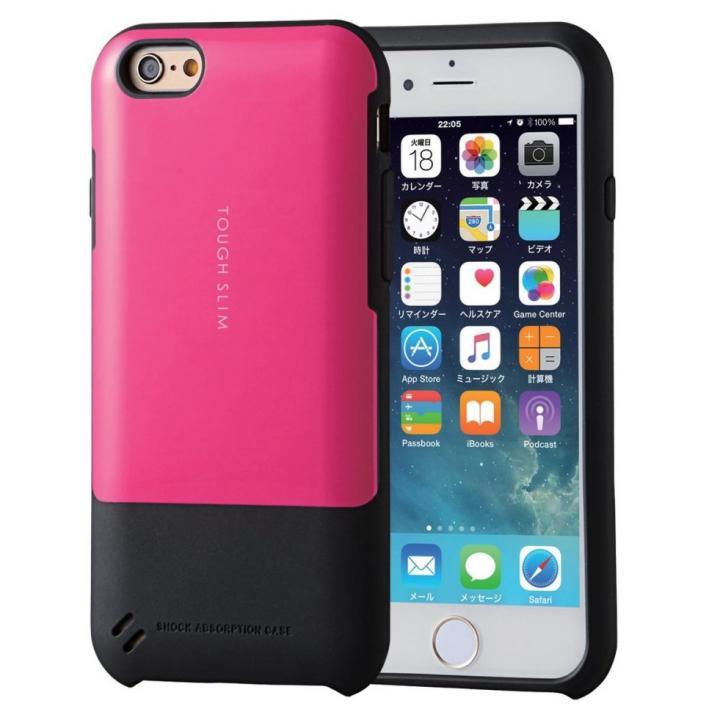 iPhone6s ケース TOUGH SLIM  耐衝撃ケース ピンク iPhone 6s_0