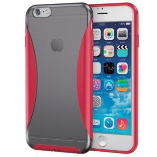 iPhone6s ケース ハイブリッドバンパー ブラック/レッド iPhone 6s