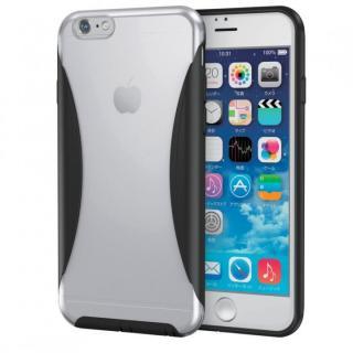 ハイブリッドバンパー クリア/ブラック iPhone 6s