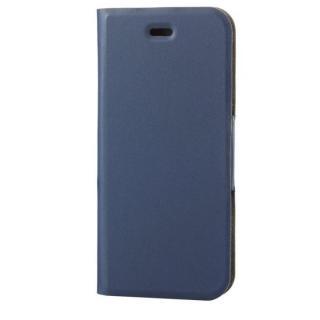 薄型ソフトレザー手帳型ケース ネイビー iPhone 6s