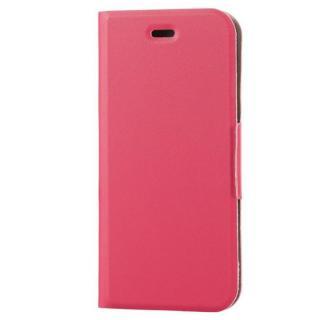 薄型ソフトレザー手帳型ケース ピンク iPhone 6s