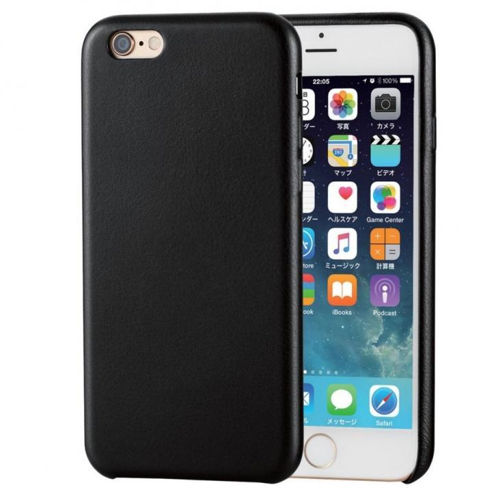 【iPhone6sケース】ソフトレザーケース ブラック iPhone 6s_0