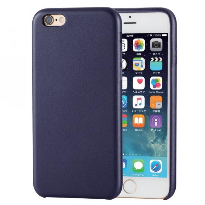 iPhone6s ケース ソフトレザーケース ブルー iPhone 6s_0