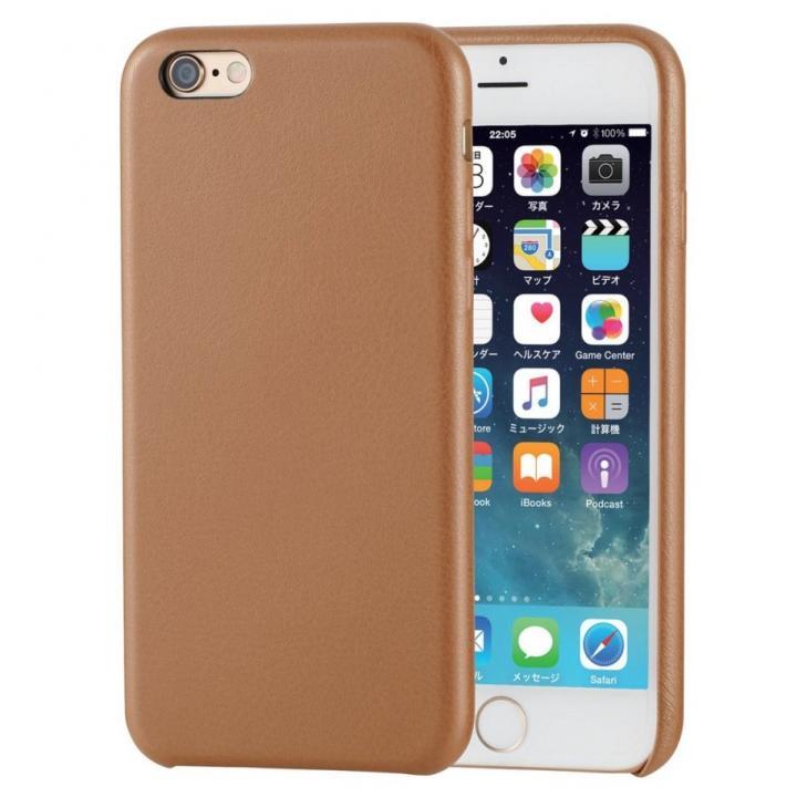 iPhone6s ケース ソフトレザーケース ブラウン iPhone 6s_0