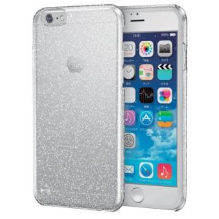 スリムハードケース シルバーラメ iPhone 6s