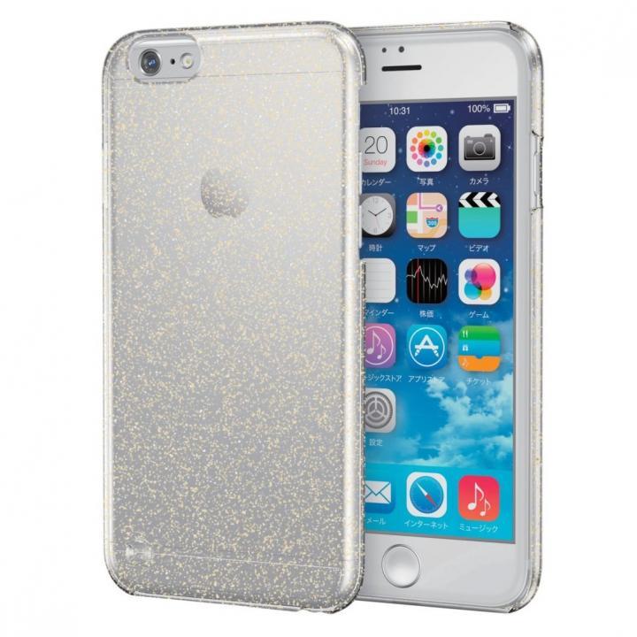 スリムハードケース ゴールドラメ iPhone 6s