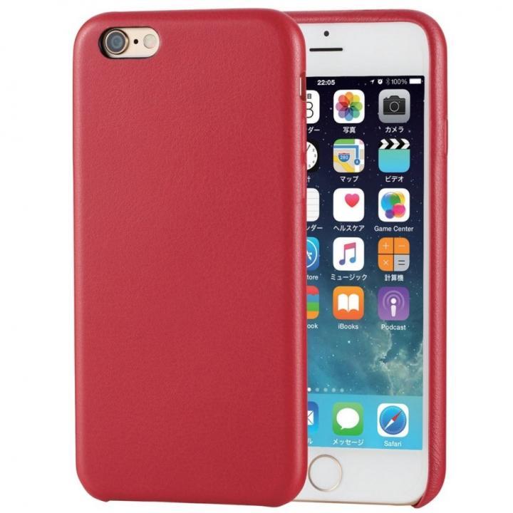 iPhone6s ケース ソフトレザーケース レッド iPhone 6s_0